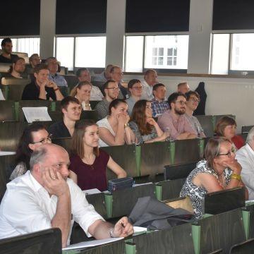 Florian Oßner berichtet über BIM im Rahmen der SEHLHOFF-Veranstaltung.