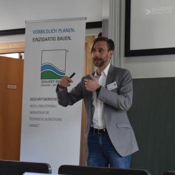 Zukunftsforscher Kai Gondlach referierte im Rahmen der SEHLHOFF-Veranstaltung in Leipzig.