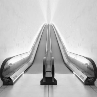 Die Rolltreppe der Elbphilharmonie