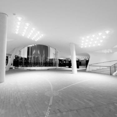 Die Plaza der Elbphilharmonie